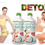 Nước uống Coconut Detox - Loại nước thần giảm cân hiệu quả