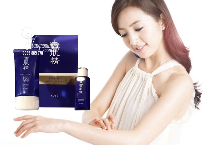 Sekkisei White UV Gel SPF50+/PA++++