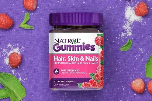 Kẹo dẻo Natrol Gummies Hair, Skin and Nails giá bao nhiêu-1
