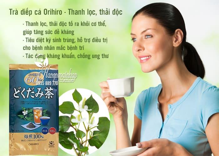 Công dụng của trà diếp cá Orihiro: