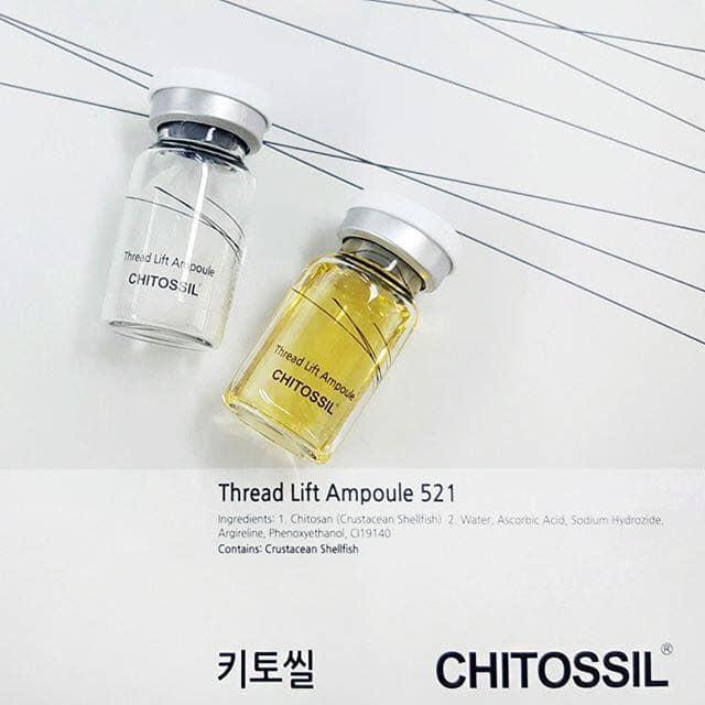 Tác dụng chính của chitossil ampoule: