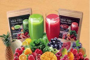 Bột rau củ quả Vege Fru Smoothie Diet có công dụng gì-1