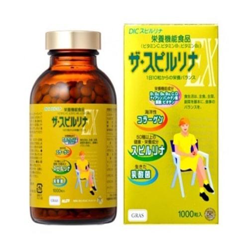 Tảo vàng Spirulina EX của Nhật Bản loại nào tốt-4