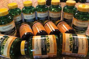 Tinh dầu hoa anh thảo Evening Primrose Oil 1300mg giá bao nhiêu-1