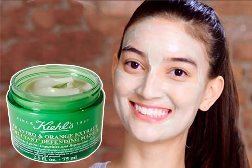 Cách dùng mặt nạ ngủ thải độc Kiehl's màu xanh-3