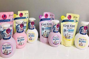 Bọt rửa tay Kirei Kirei có tốt không-1