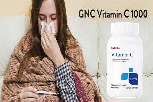 Công dụng của viên uống vitamin C 1000mg GNC-3