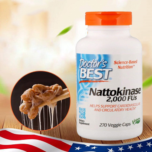 Viên uống Doctor's Best Nattokinase 270 viên giá bao nhiêu-2