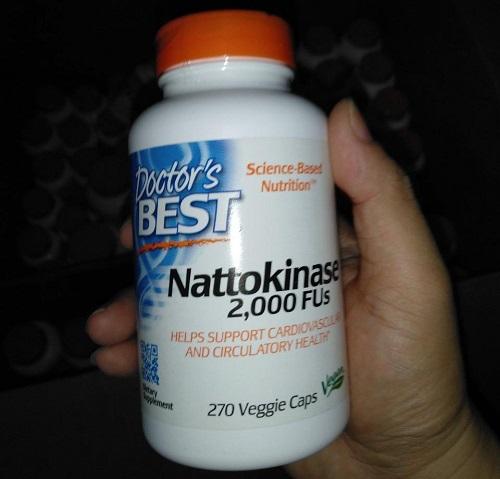 Viên uống Doctor's Best Nattokinase 270 viên giá bao nhiêu-3