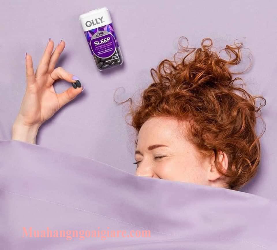 Những ai cần sử dụng kẹo dẽo hỗ trợ giấc ngủ ngon của Mỹ Olly Sleep?