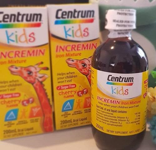 Siro Centrum Kid Incremin có tốt không-2