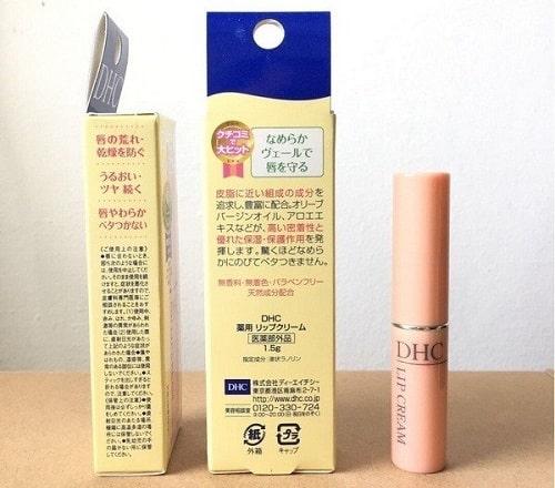 Son dưỡng DHC Lip Cream có tốt không-1