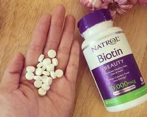 Review thuốc mọc tóc Natrol Biotin 10000mcg của Mỹ-4
