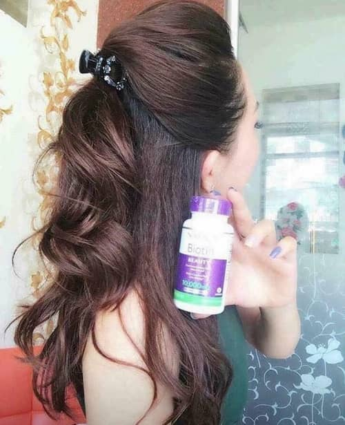 Review thuốc mọc tóc Natrol Biotin 10000mcg của Mỹ-5