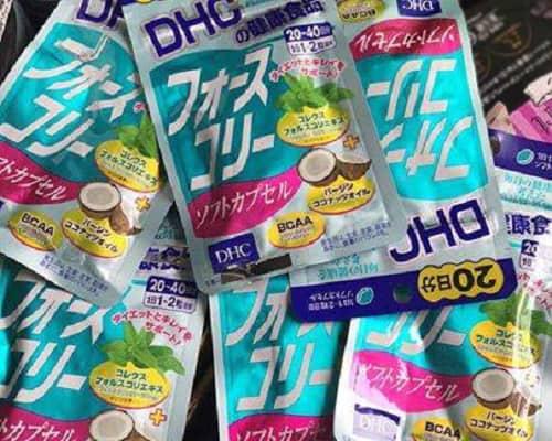 Viên uống giảm cân DHC dầu dừa review-1