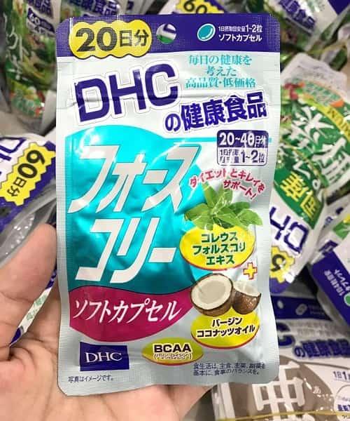 Viên uống giảm cân DHC dầu dừa review-2