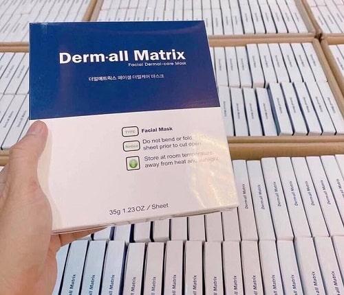 cách sử dụng mặt nạ Derm All Matrix-2