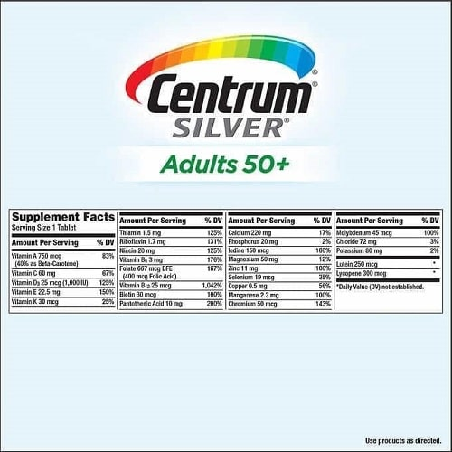 Centrum Silver Adults 50+ 325 viên review-3