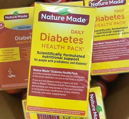 Nature Made Diabetes Health Pack là thuốc gì?-1