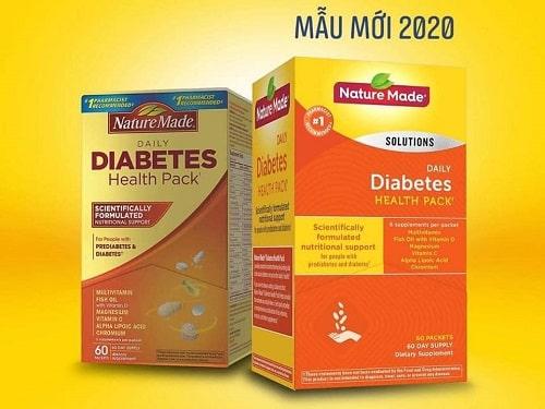 Nature Made Diabetes Health Pack là thuốc gì?-2