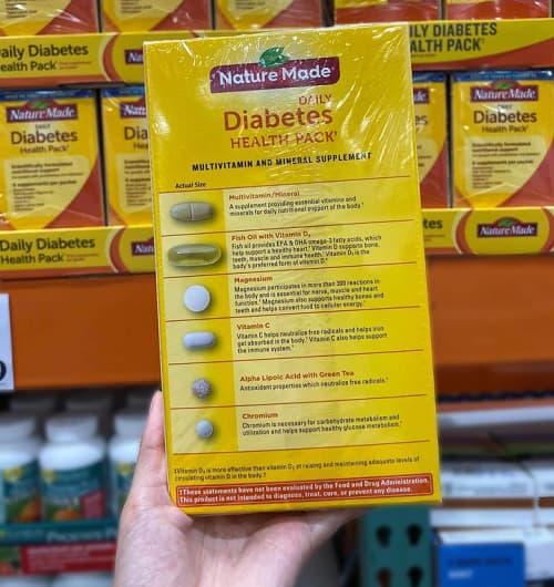 Nature Made Diabetes Health Pack là thuốc gì?-3