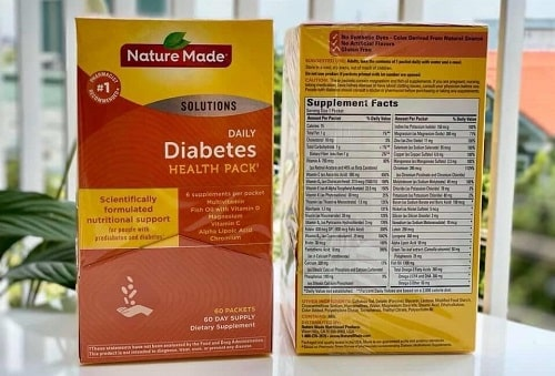 Nature Made Diabetes Health Pack là thuốc gì?-4