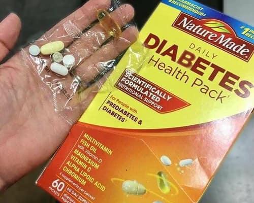 Nature Made Diabetes Health Pack là thuốc gì?-5
