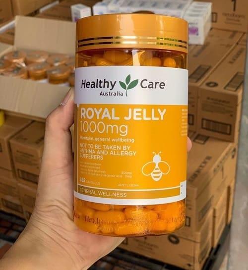 Royal Jelly 1000mg Healthy Care thật giả phân biệt như thế nào?-2