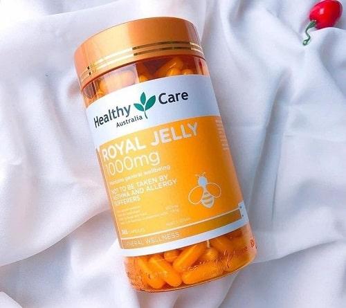 Royal Jelly 1000mg Healthy Care thật giả phân biệt như thế nào?-3