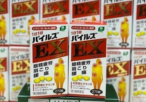 Review viên uống trị đau vai gáy EX High F của Nhật-1