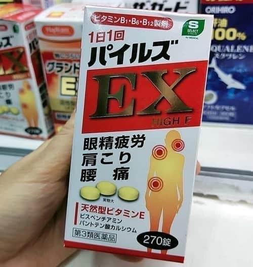 Review viên uống trị đau vai gáy EX High F của Nhật-2