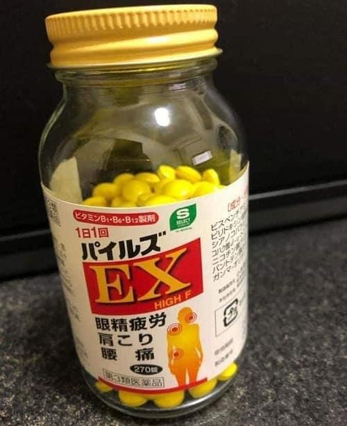 Review viên uống trị đau vai gáy EX High F của Nhật-4