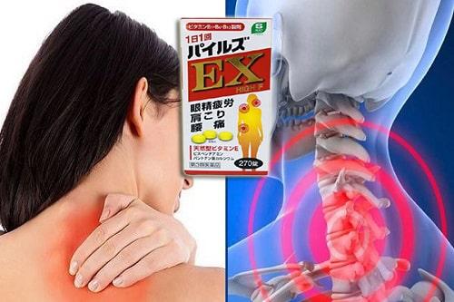 Review viên uống trị đau vai gáy EX High F của Nhật-5