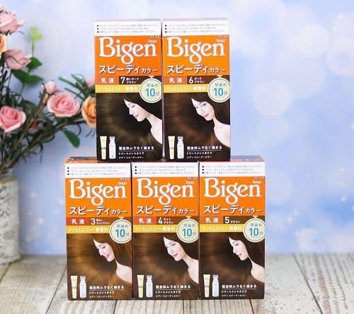 Thuốc nhuộm tóc Bigen review-2