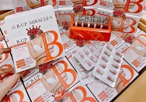 Viên uống tăng vòng một B-Up Miracle + review-2