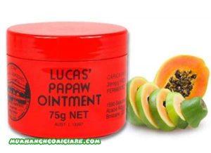 Kem đa năng lucas papaw ointment giá bao nhiêu và mua ở đâu