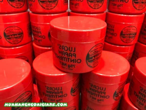 Kem đa năng lucas papaw ointment đu đủ 75g mua ở đâu uy tín