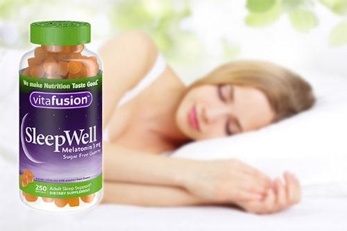 Kẹo ngủ Vitafusion SleepWell Melatonin 3mg có tốt không?-3