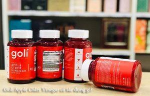 Kẹo dẻo Goli Apple Cider Vinegar có tác dụng gì?-1