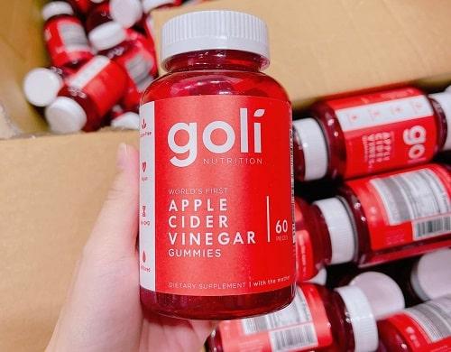 Kẹo dẻo Goli Apple Cider Vinegar có tác dụng gì?-2
