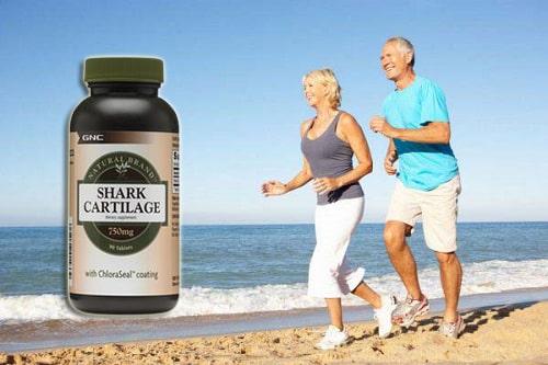 Sụn vi cá mập GNC Shark Cartilage review-5