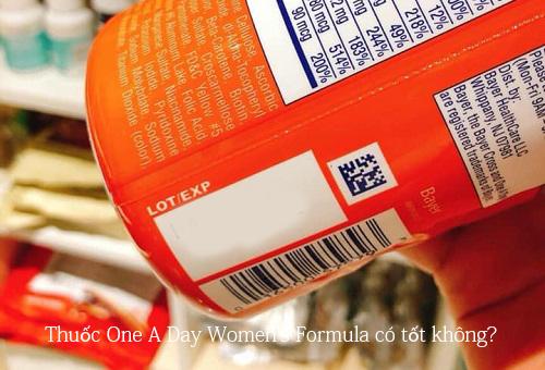 Thuốc One A Day Women's Formula có tốt không?-1