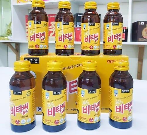 Nước tăng lực 365X Vitamin C Gold review-1