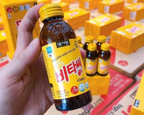 Nước tăng lực 365X Vitamin C Gold review-2