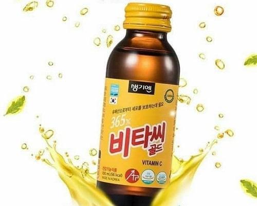 Nước tăng lực 365X Vitamin C Gold review-3