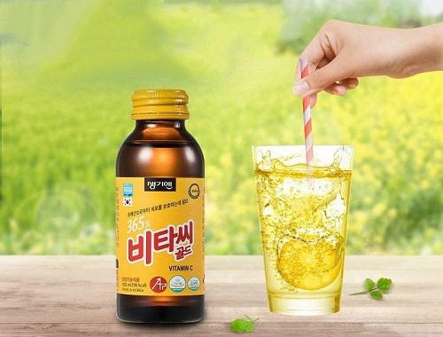 Nước tăng lực 365X Vitamin C Gold review-4