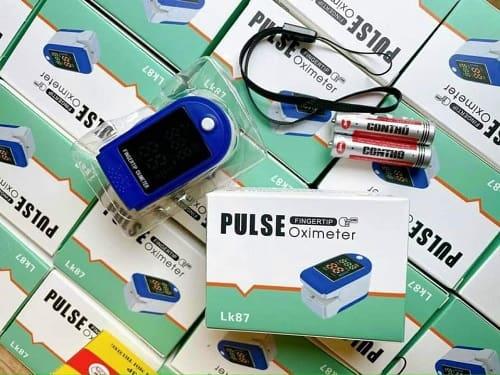 Máy đo nồng độ oxy trong máu Pulse Oximeter LK87 review-3