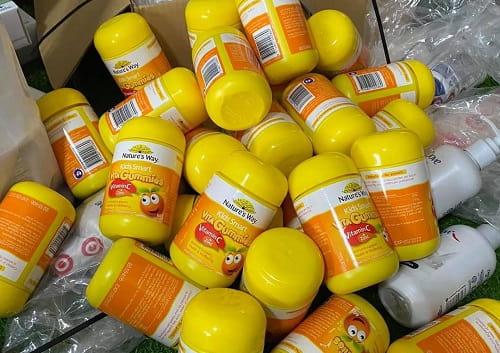 Kẹo dẻo Nature's Way Vita Gummies Vitamin C + Zinc review-1