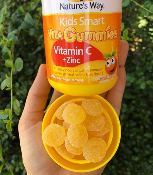 Kẹo dẻo Nature's Way Vita Gummies Vitamin C + Zinc review-4