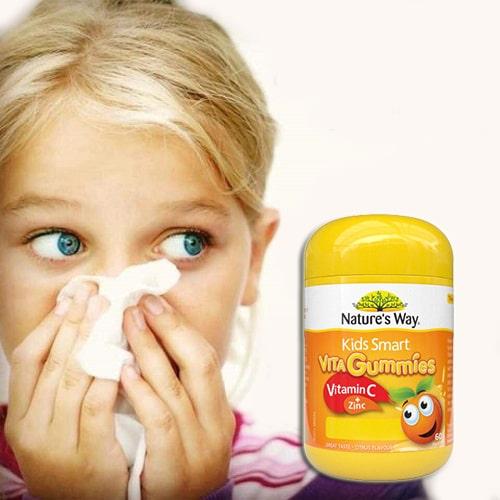 Kẹo dẻo Nature's Way Vita Gummies Vitamin C + Zinc review-5